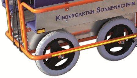 Krippenwagen Klassik Räder