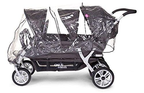 Childwheels Krippenwagen Regenschutz
