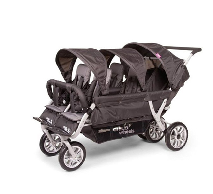 Childwheels Krippenwagen 6 Sitzer