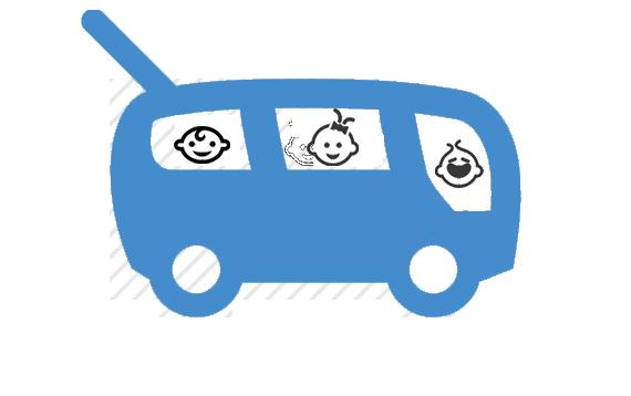 Krippenwagen Logo
